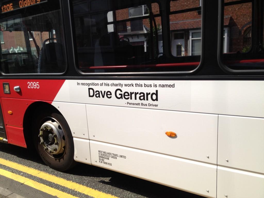Dave Gerrard bus